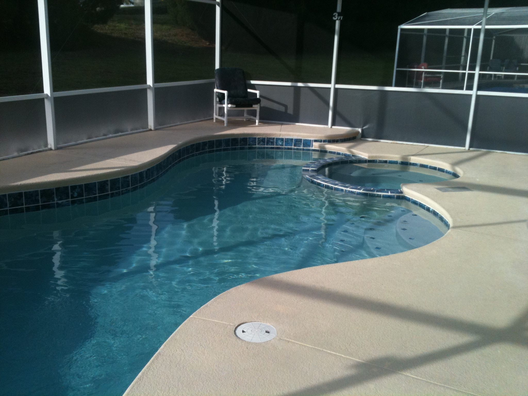 Swimming Pool Renovations Orlando : Our gallery bluescape pool and spa